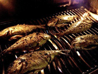 Cuocere il pesce: regola dei 10 minuti
