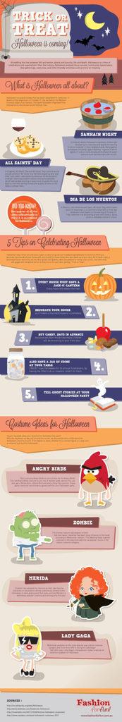 halloween infografica