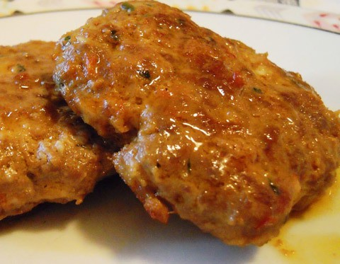 hamburger ripieni mozzarella e prosciutto - ricetta - Come Cucinare Hamburger Di Carne