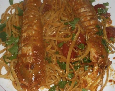 linguine alle cicale di mare ricetta