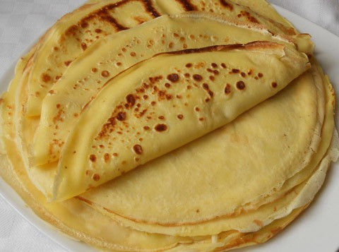 Crespelle salate – Ricetta crepes