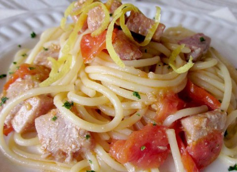 Spaghetti al tonno – Ricetta veloce
