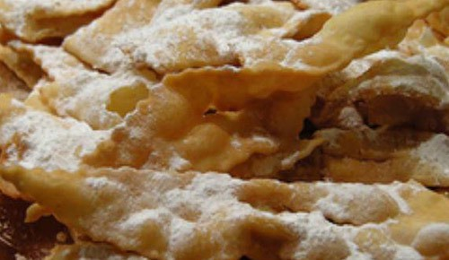 Chiacchiere di carnevale – ricetta