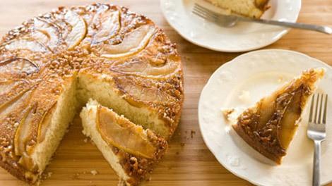 Ricetta Torta di pere e noci