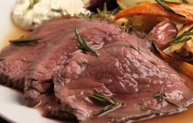 Roast beef di vitello al forno – Ricetta