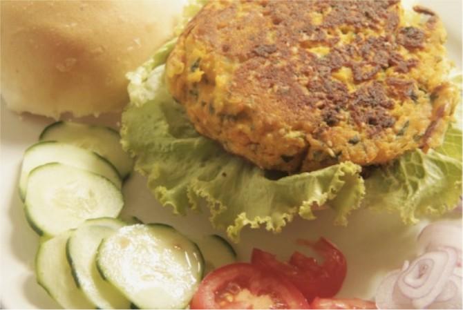 Hamburger di ceci – Ricetta