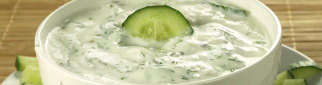 salsa tzatziki aglio cetriolo yogurt ricetta
