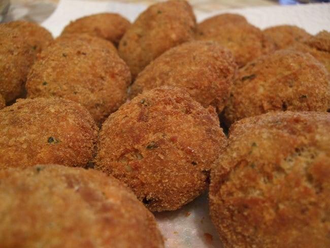 Polpette fritte con lime e zenzero fresco – ricetta