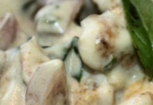 pollo cocco e zucchine