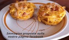 ricetta timballi bucatini con pancetta