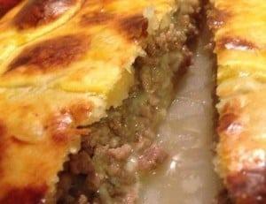 ricetta pizza rustica carne e mozzarella