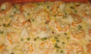 ricetta risotto scampi patate forno gratinati