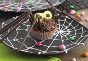 ricetta terrificante ragni halloween dolci