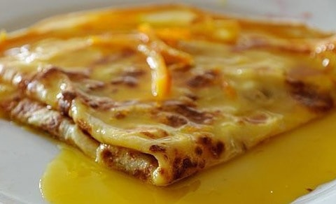 crepes suzette dolci ricetta