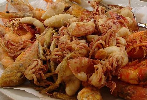 frittura di pesce o di paranza ricetta