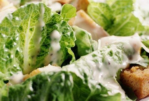 caesar salad ricetta dressing