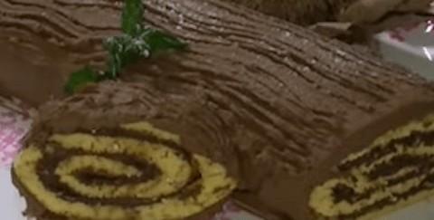 tronchetto alla nutella ricetta