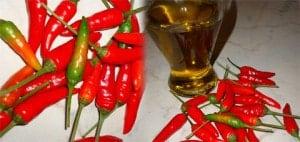 come preparare l'olio santo piccante