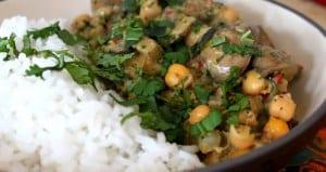 crema funghi e ceci al curry ricetta