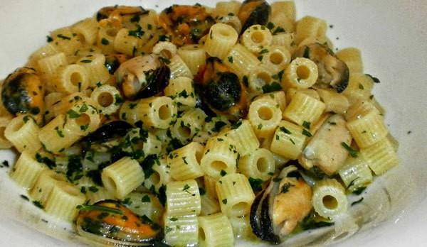 pasta zucchine e cozze ricetta