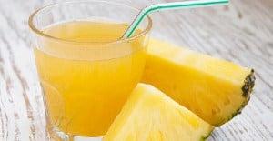 salute e benessere alimentare ananas e mela