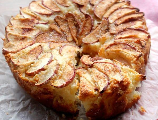 torta di mele e yogurt ricetta
