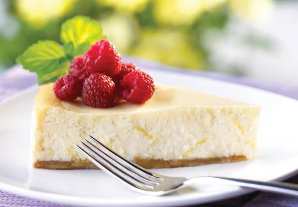 cheesecake al limone ricetta