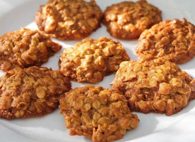 ricetta biscotti ai fiocchi di avena