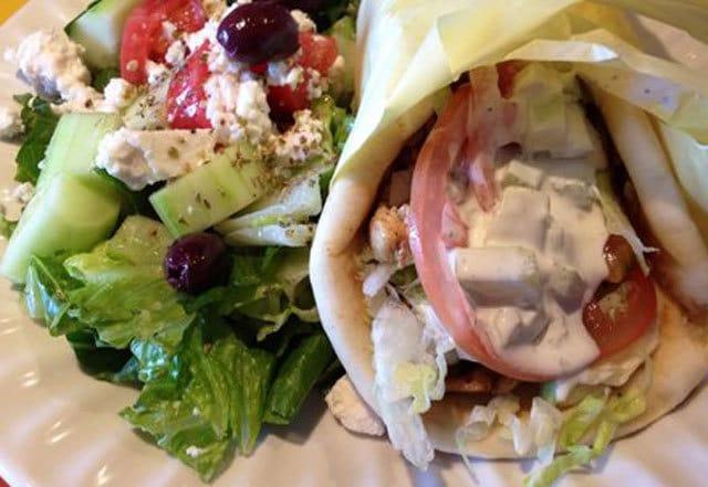 gyros pita ricetta greca