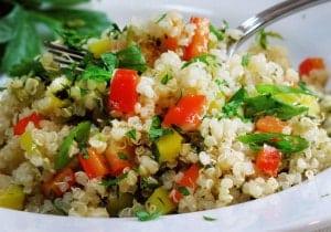 ricetta quinoa e seppioline salute e benessere a tavola