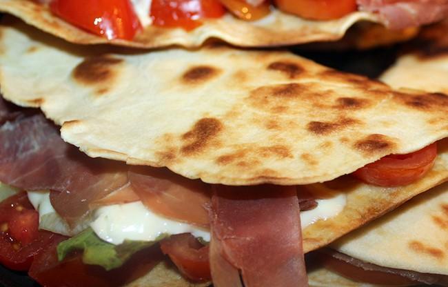 piadina romagnola ricetta senza strutto