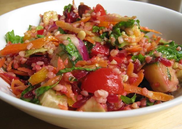ricetta insalata di farro estiva