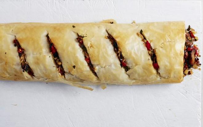 strudel riso alla greca ricetta estiva