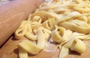 ricetta tagliatelle pasta fresca