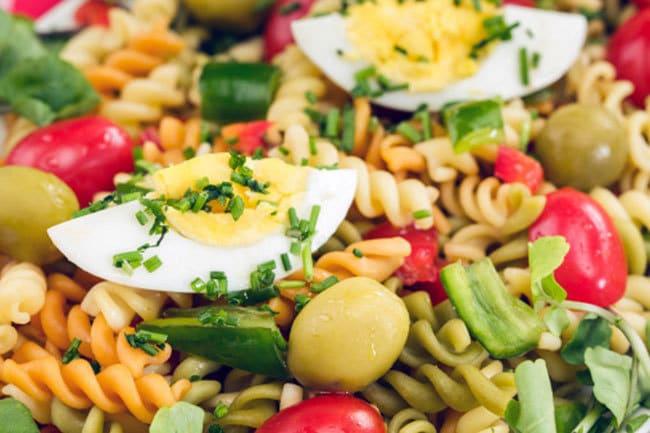 ricetta insalata di pasta estiva