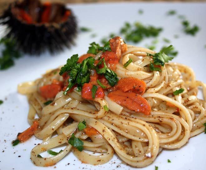 pasta ai ricci di mare ricetta