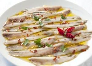 alici marinate ricetta