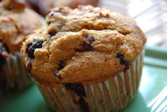 ricetta muffin dolci yogurt e mirtili