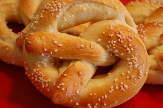 ricetta pretzel bretzel senza soda caustica