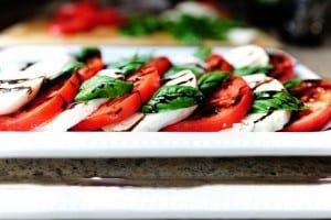 ricetta caprese mozzarella e pomodoro